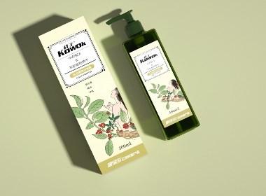 丨包装设计丨康绿宝-KOWOK植物沐浴露包装设计2