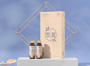 燕窝胶原蛋白口服液|女性滋补保健品|品牌包装设计©刘益铭原创作品