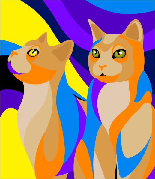 无主猫砂包装原创设计