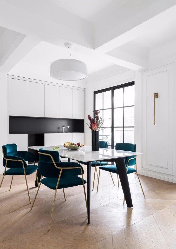 现代法式三居室装修设计,融入浪漫与优雅的生活