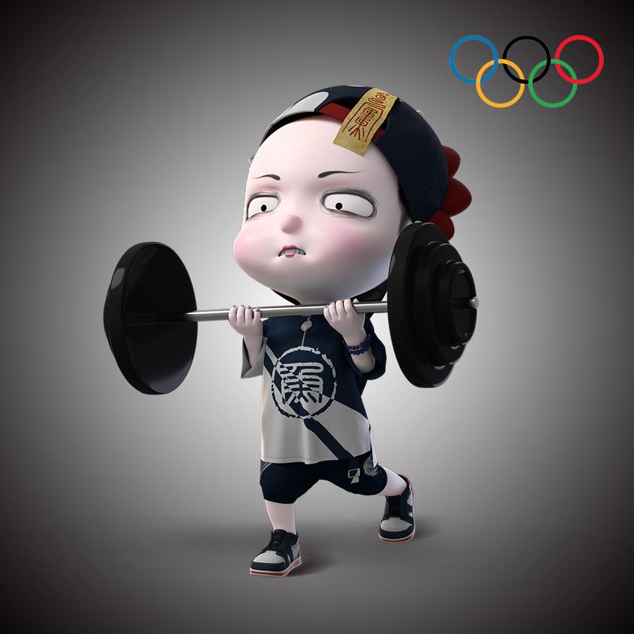 换上五环头像,一起为中国健儿打call   僵小鱼奥运头像壁纸