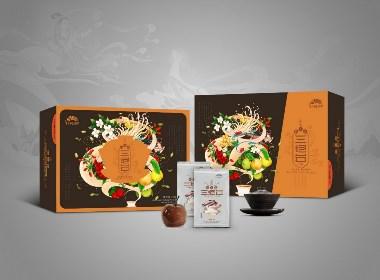 蘭州蓋碗茶包裝設計