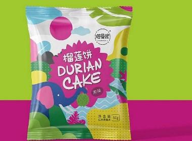 巨灵设计:塔曼妮榴莲饼产品包装