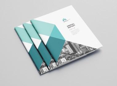 科技网格公司画册版式设计
