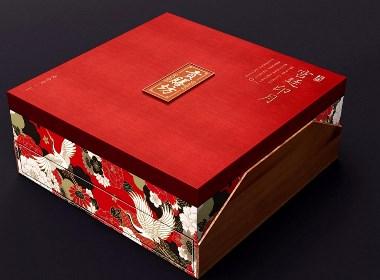 巨灵设计:贡膳坊月饼盒设计