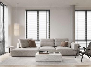 人类高质量男性的高级公寓 · 66m² | NEEN DESIGN 尼恩设计