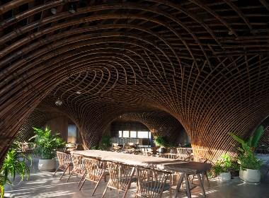 越南七楼咖啡厅丨成都咖啡厅设计丨川颂装饰