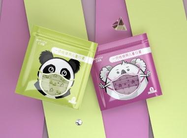 洛尚品牌设计 X 卫族 打造儿童版口罩包装设计