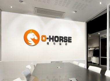 橙马运动LOGO设计