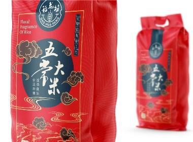 稻花坊五常大米包装设计 | 摩尼视觉原创