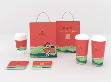 奶茶方案包装vi设计