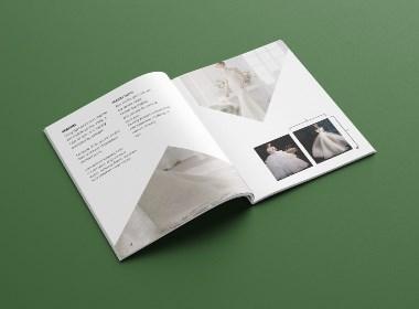 婚纱摄影行业画册版式设计