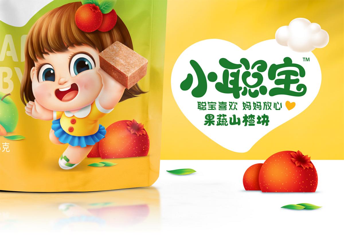 善行研創一紅谷林旗下兒童零食品牌小聰寶山楂塊