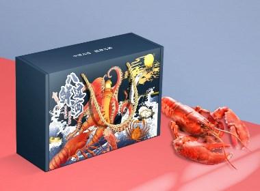 橘貓X天貓國潮 大連海鮮年貨禮盒八鮮過海