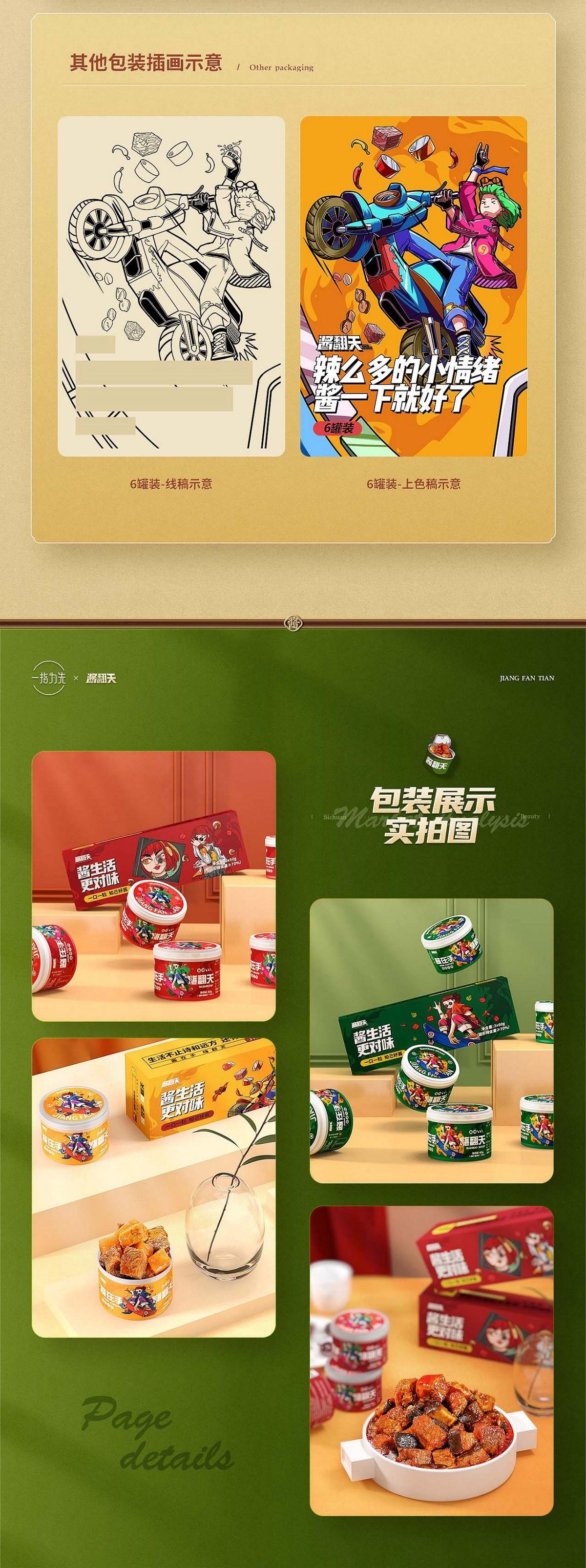 品类TOP爆款打造 食品类详情页分享 一指为先