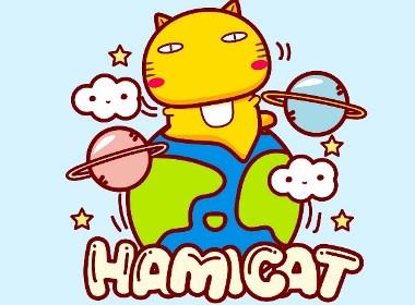 哈咪貓環游太空