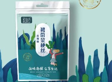 【蓝渔谷】超好吃的裙带丝!