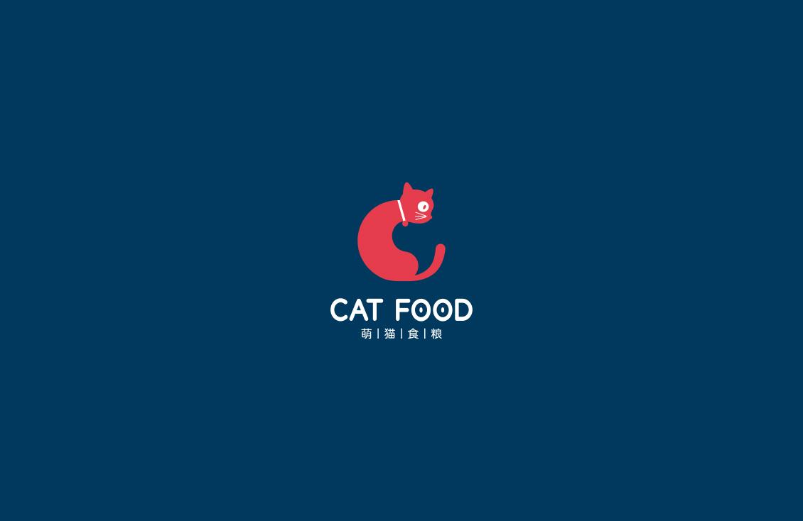 萌猫食粮品牌VI设计