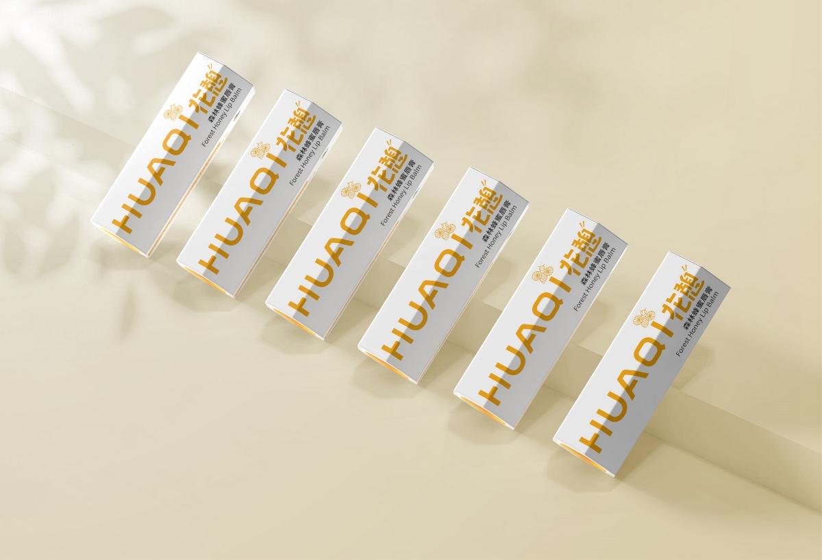 花憩-蜂蜜唇膏包装设计
