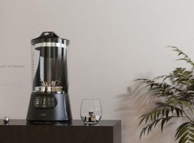 VINSUM设计情报8.26| 一款提高生活品味榨汁机-谭爵荣