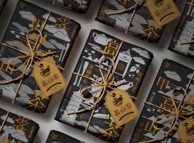 高山茶茶叶包装设计