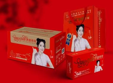 紫山集团意面传奇系列产品包装设计—壹笔壹画品牌设计