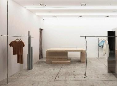 空间秩序概念店铺:金属/石材/混凝土 | NEEN DESIGN·尼恩设计