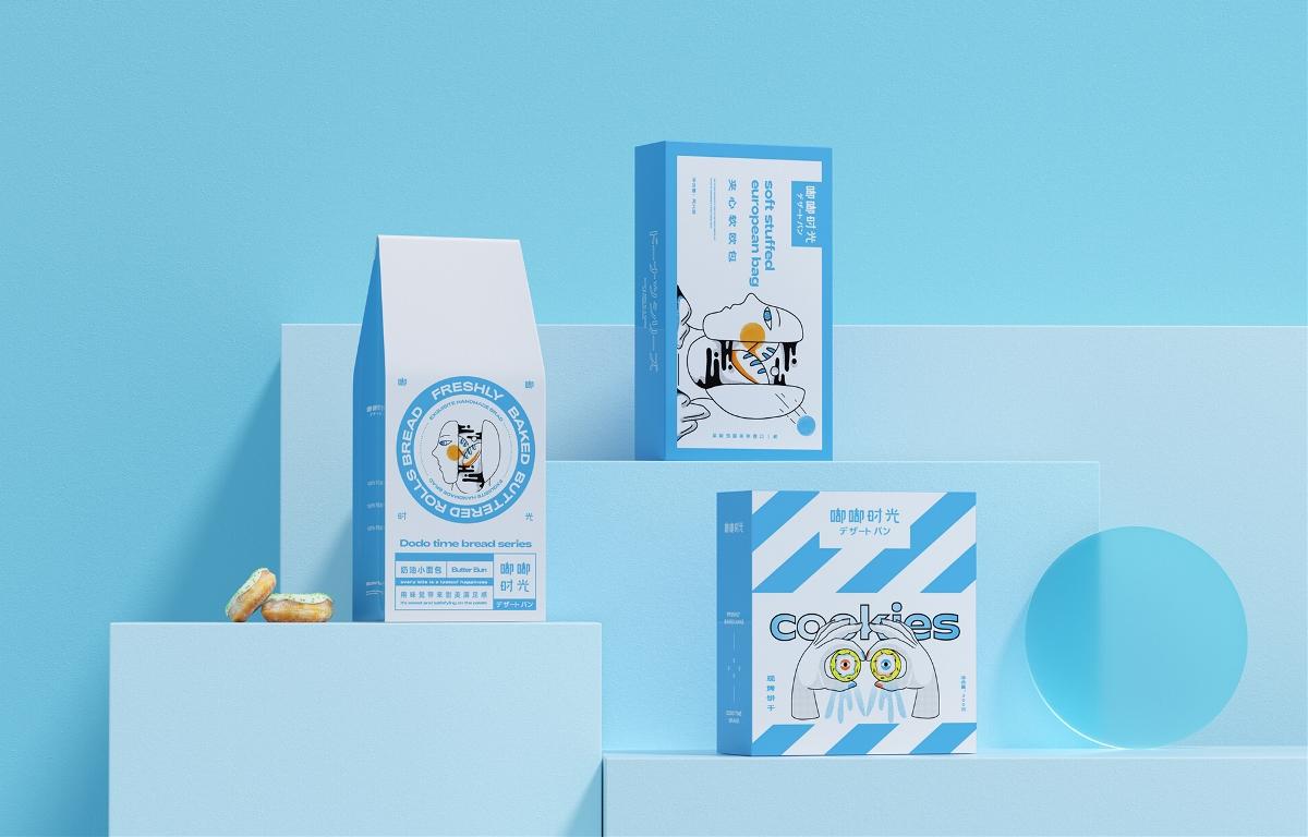 嘟嘟時光丨烘焙甜品品牌設計