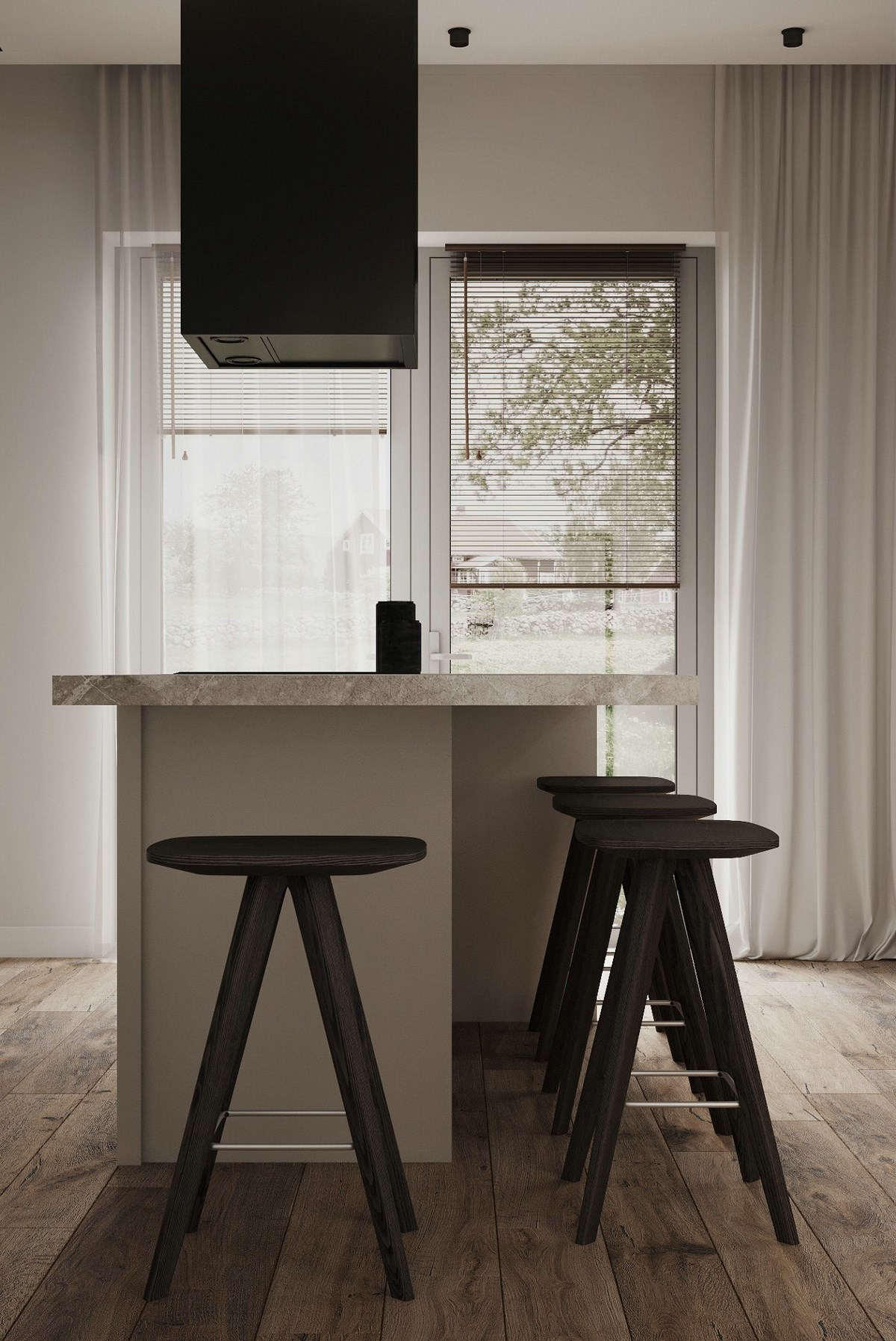 55㎡小空间公寓设计 小而精致
