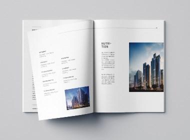 城市曙光地产画册版式设计