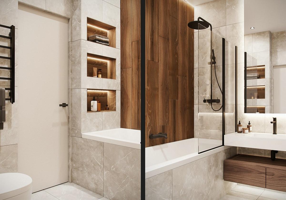 现代简约风小空间公寓设计