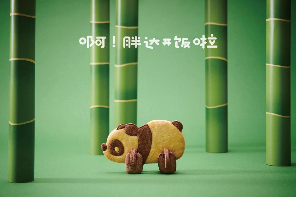 原创|胖胖的Panda叫胖达 熊猫动物饼干包装