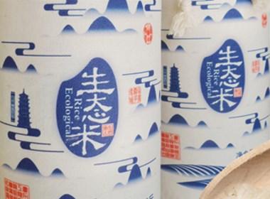 生态大米包装设计