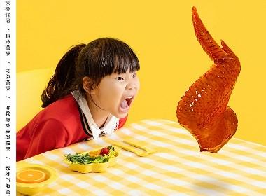 哇,妈妈,我想嚼鸡翅~电商美食摄影,创意美食摄影
