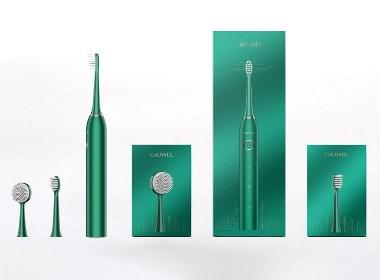 柯珞薇聲波電動牙刷包裝設計