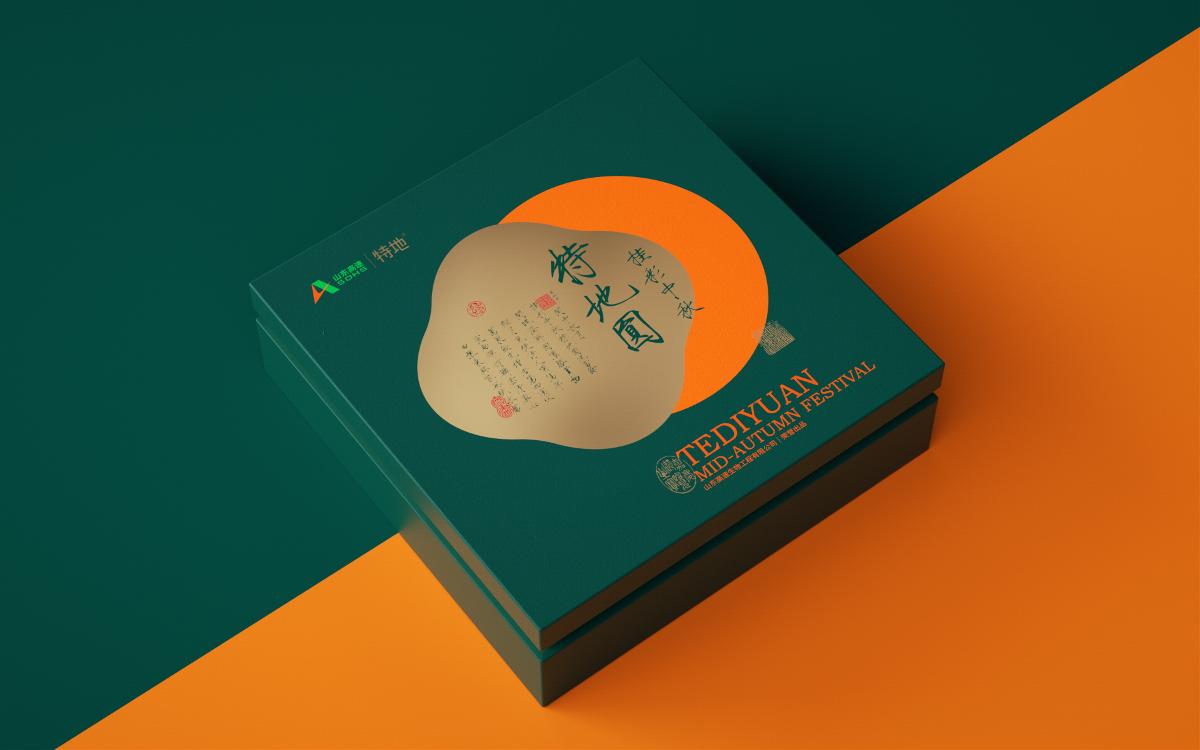 山东高速特地月饼礼盒形象设计