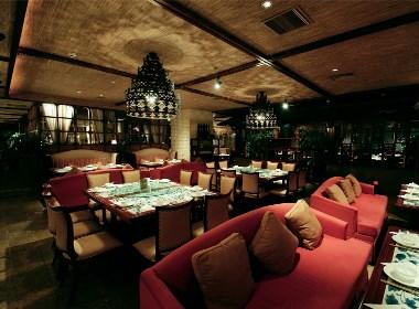 杭州品尚设计︱北京绿茶餐厅设计