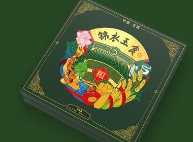 兰西县粮油礼盒包装设计