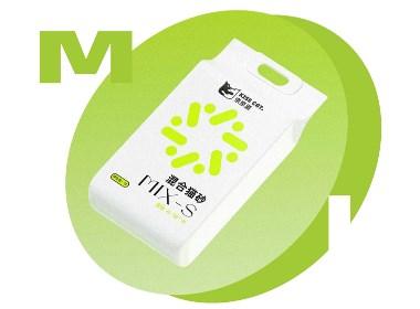 亲亲猫 猫砂logo设计包装设计