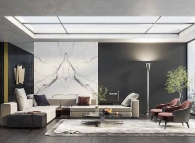 意大利Minotti现代客厅