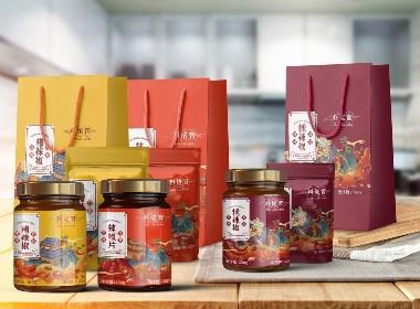 料捞官×辣椒酱系列国潮包装设计