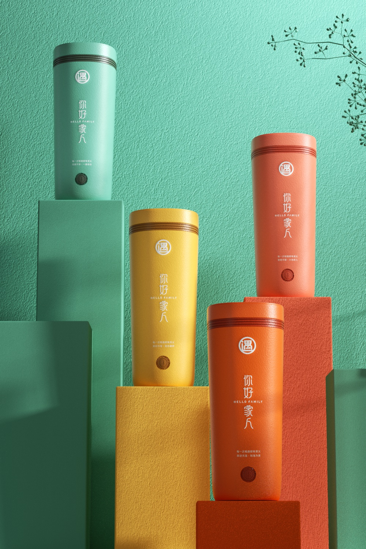 《你好家人》品牌设计 包装设计