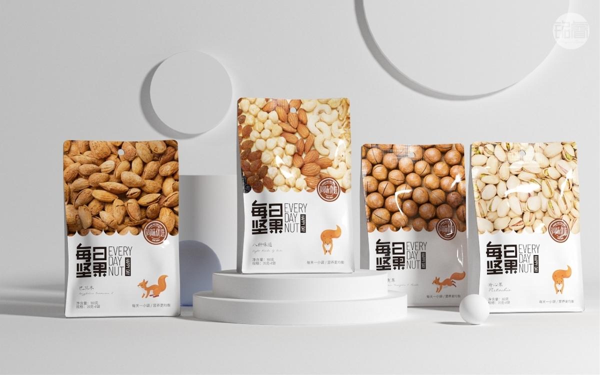 坚果品牌包装设计©刘益铭原创作品