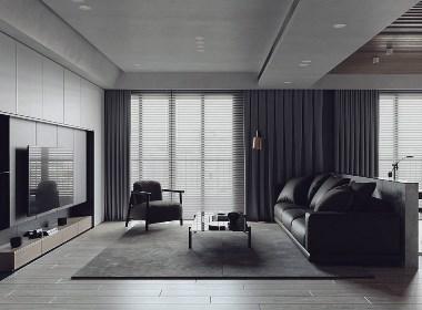 极简主义空间:用单色融合装饰独特奢华感 | NEENDESIGN 尼恩设计