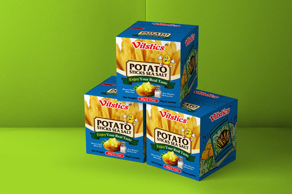 进口薯条包装设计