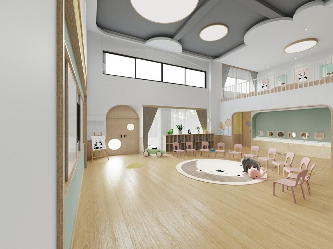 1500平米中大型童趣幼儿园