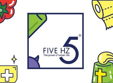 五赫兹湿纸巾包装设计