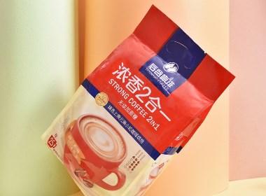 浓香2合1×咖啡包装设计×袋装咖啡