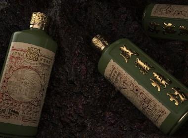 贵州白酒成义烧坊新产品包装设计【黑马奔腾创意设计】