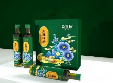 亚麻籽油包装设计